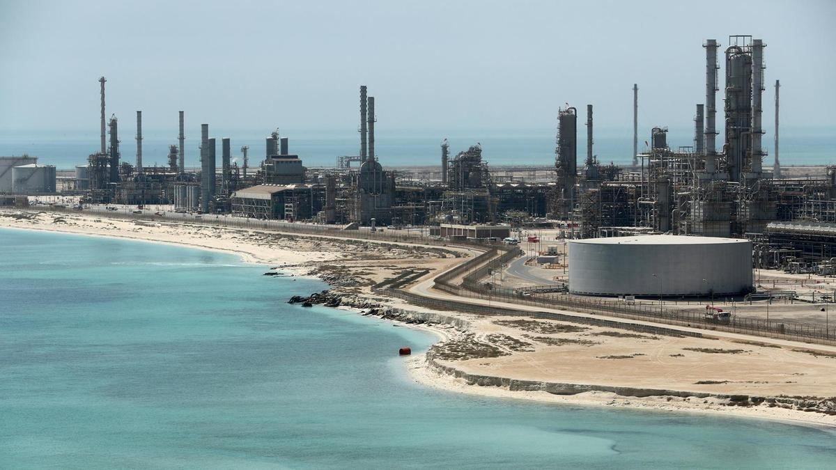 Corrosion protection at Ras Tanura refinery